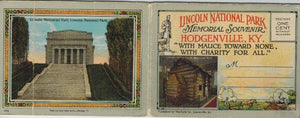 Lincoln National Park Postcard Book - books-new