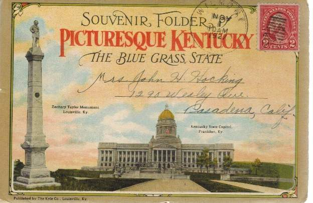 Picturesque Kentucky Postcard Book - books-new