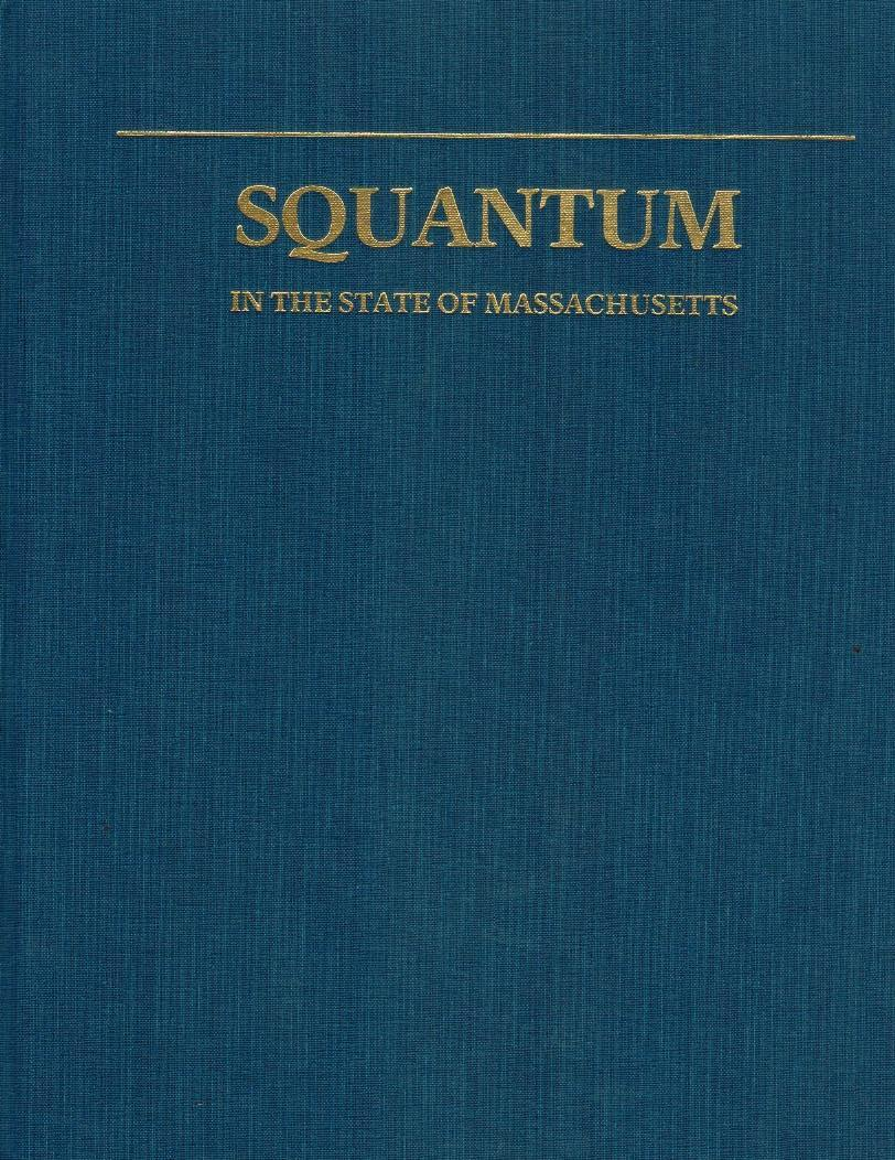 Squantum, in the State of Massachusetts - books-new