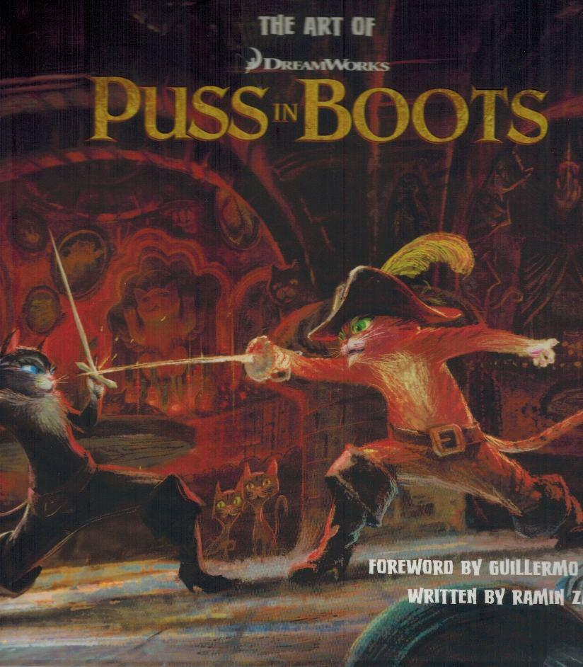 The Art of DreamWorks Puss in Boots - books-new