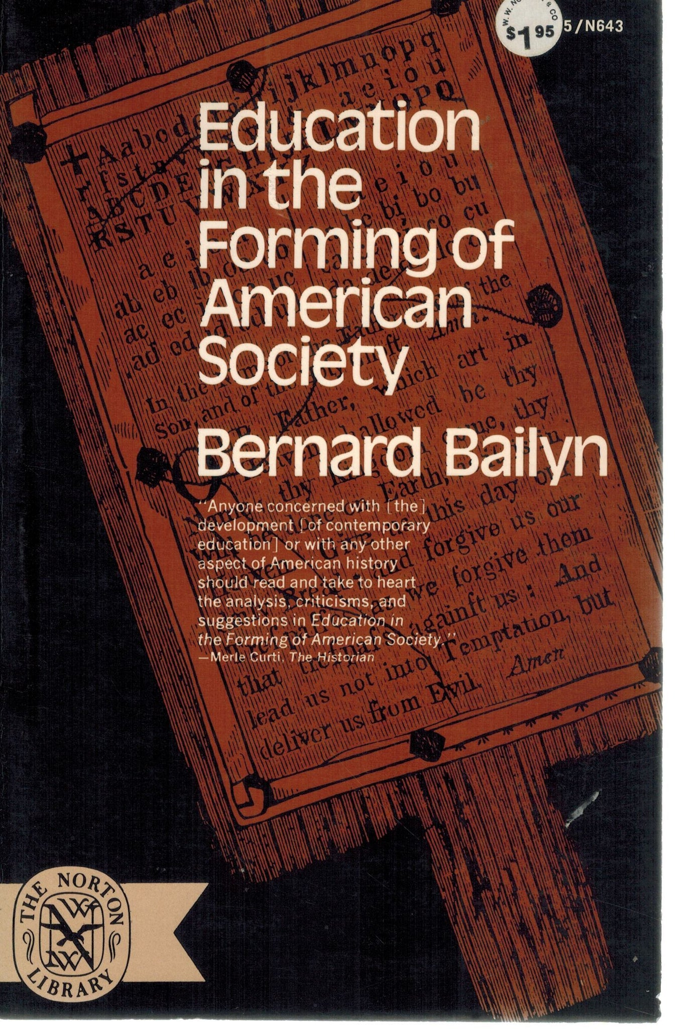 EDUCATION IN THE FORMING OF THE AMERICAN SOCIETY - books-new