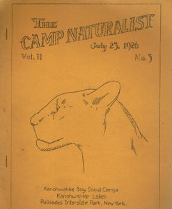 THE CAMP NATURALIST JULY 23, 1926 - books-new