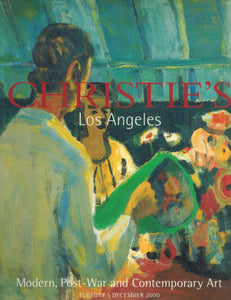 Christie's Los Angeles, Modern, Post-war and Contemporary Art - books-new