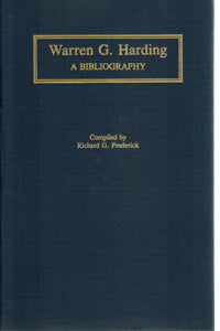 WARREN G. HARDING  A Bibliography - books-new