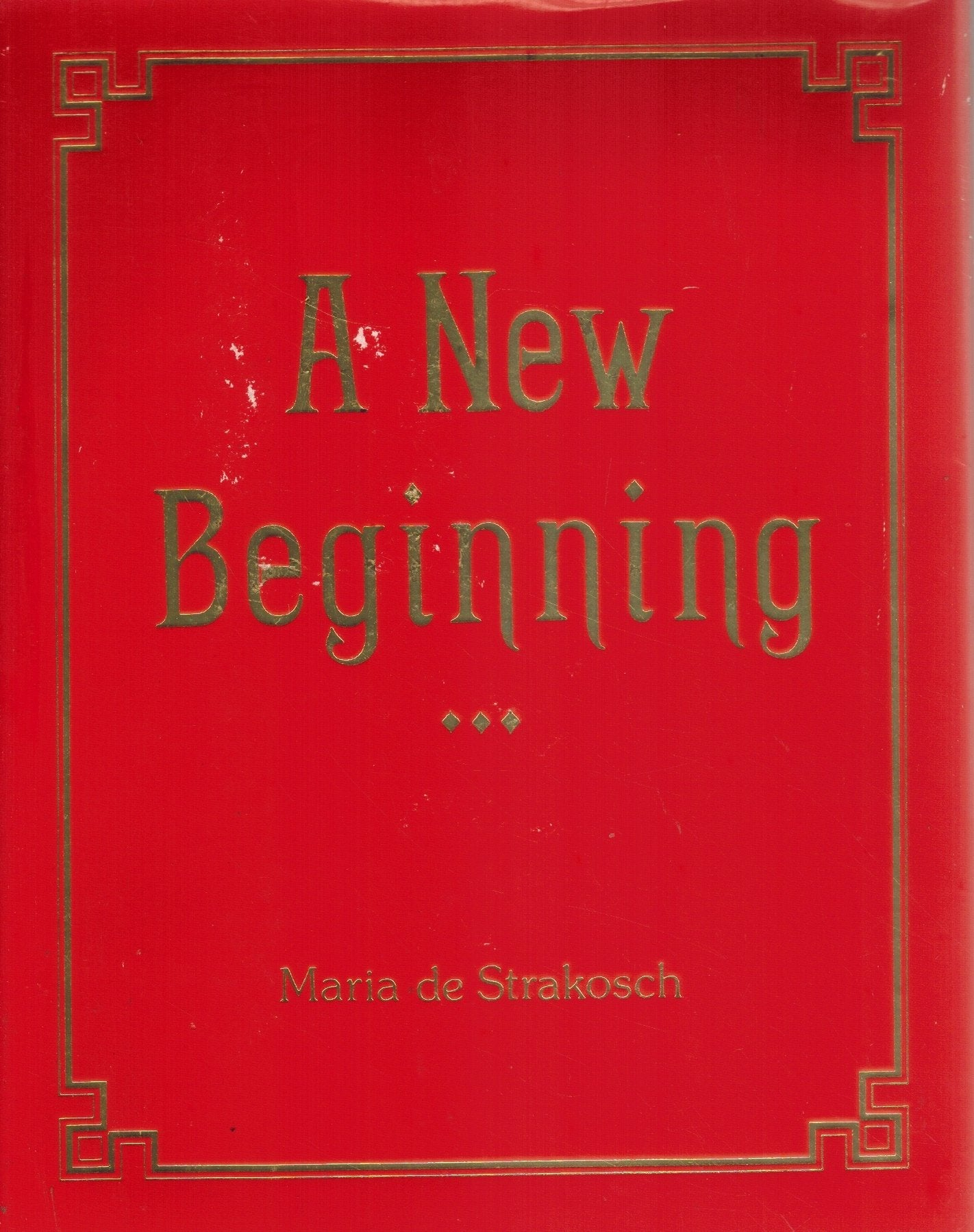 A NEW BEGINNING - books-new