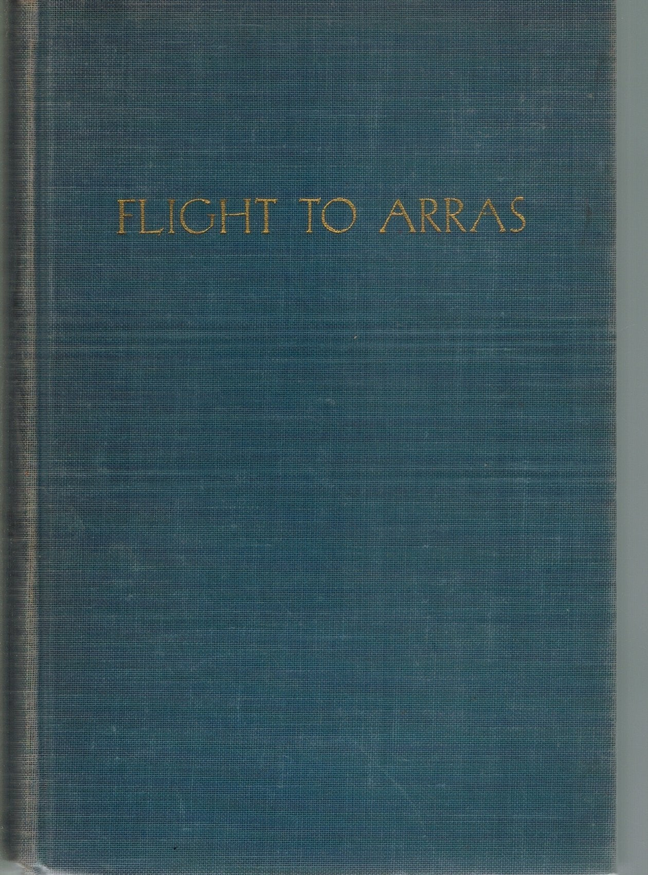 FLIGHT TO ARRAS - books-new