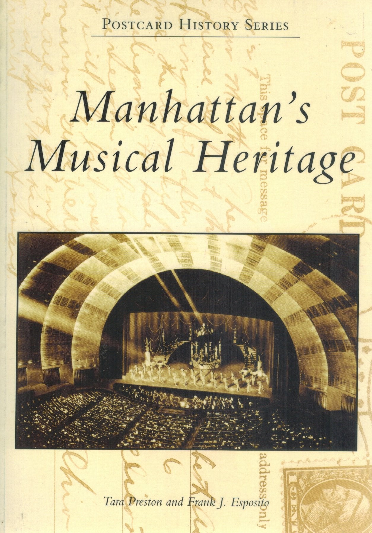Manhattan's Musical Heritage      (Postcard History) - books-new