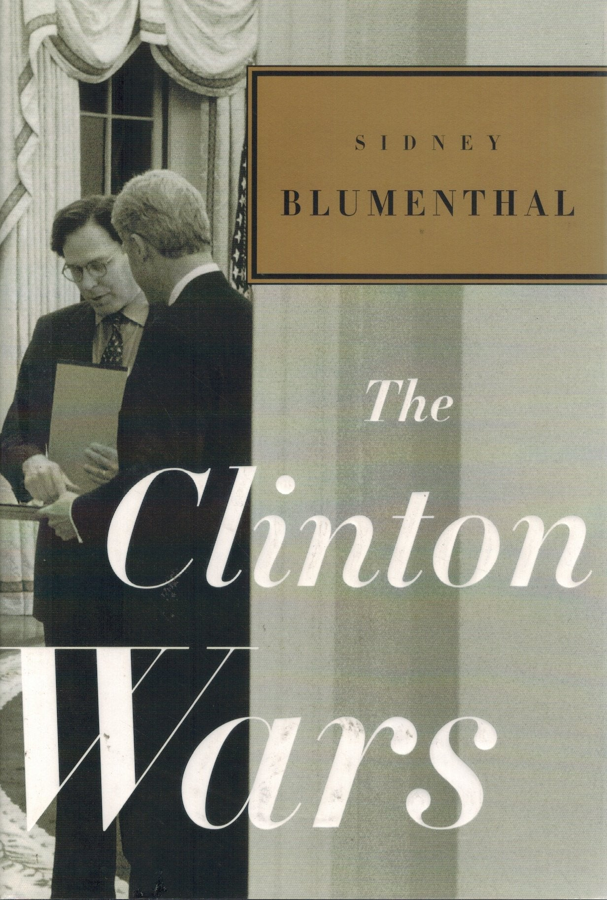 THE CLINTON WARS - books-new