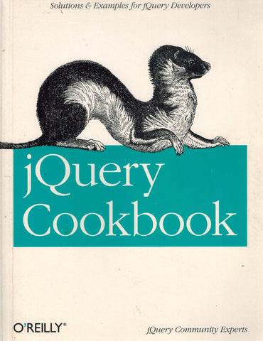jQuery Cookbook  Solutions & Examples for jQuery Developers