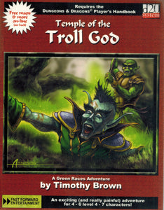 TEMPLE OF THE TROLL GOD-D20 Requires the Dungeons & Dragons Player's  Handbook