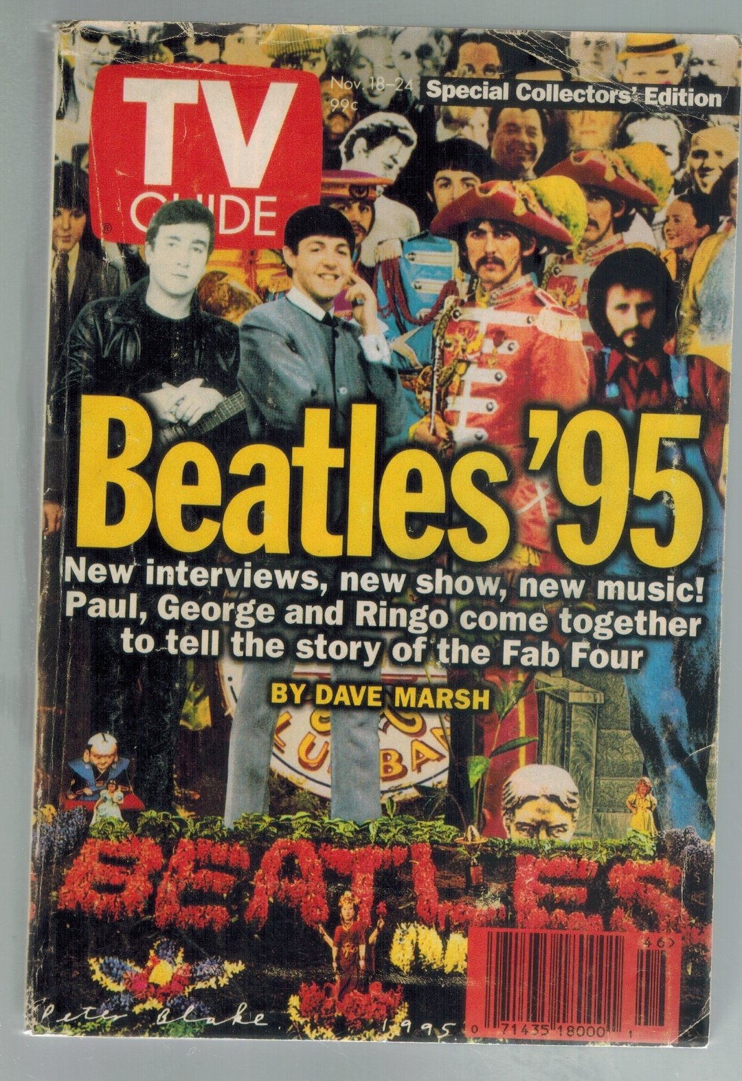 TV Guide Beatles 95  by Marsh, Dave and Tv Guide