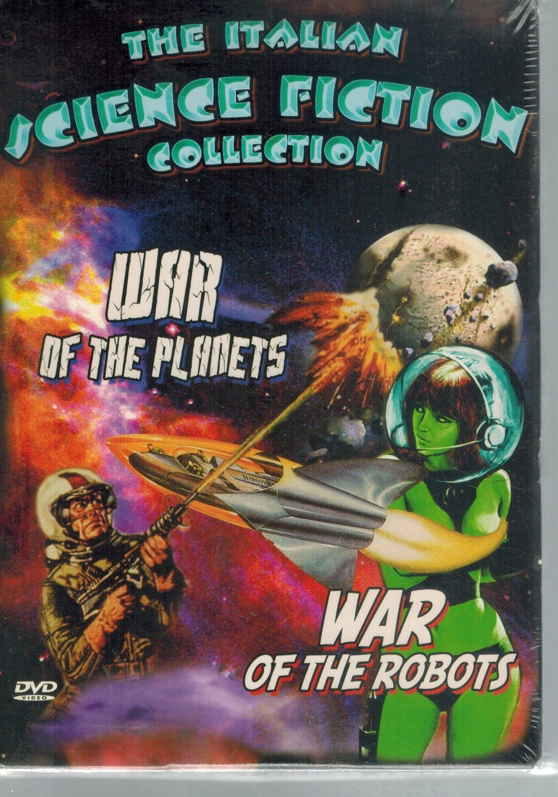 THE ITALIAN SCIENCE FICTION COLLECTION: WAR OF THE PLANETS/WAR OF THE  ROBOTS  by Alessi & Aldo Crudo & Giacomo Mazzocchi & Massimo Lo Jacono