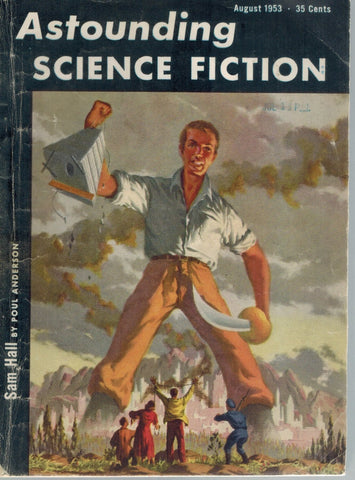 Astounding Science Fiction, August 1953