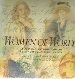 Women of Words  A  Personal Introduction to Thirty-Five Important Writers  by Teacher, Janet Bukovinsky & Jenny Powell