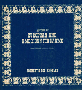 Auction of European and American Firearms Sale 324  by Sotheby Parke Bernet