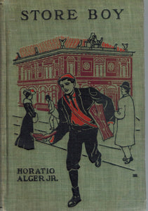 THE STORE BOY OR, THE FORTUNES OF BEN BARCLAY .  by Alger, Horatio, Jr.