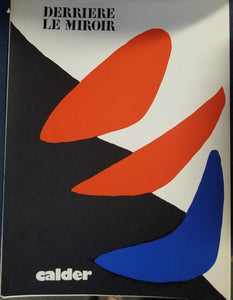 DERRIERE LE MIROIR NO. 190 FEVRIER 1971 Alexander Calder - with Five  Original Lithographs  by Calder, Alexander & Carlos Franqui