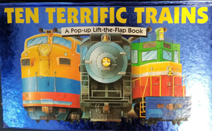TEN TERRIFIC TRAINS  by Conboy, Fiona