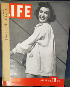 LIFE MAGAZINE APRIL 11, 1938  by Luce, Henry R. (Editor)