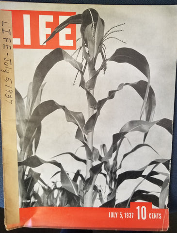 LIFE MAGAZINE, JULY 5, 1937  by Life Magazine Staff Writers & Henry R. Luce