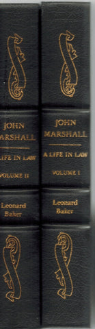 John Marshall: a Life in Law (2 Volume Set)  by Baker, Leonard