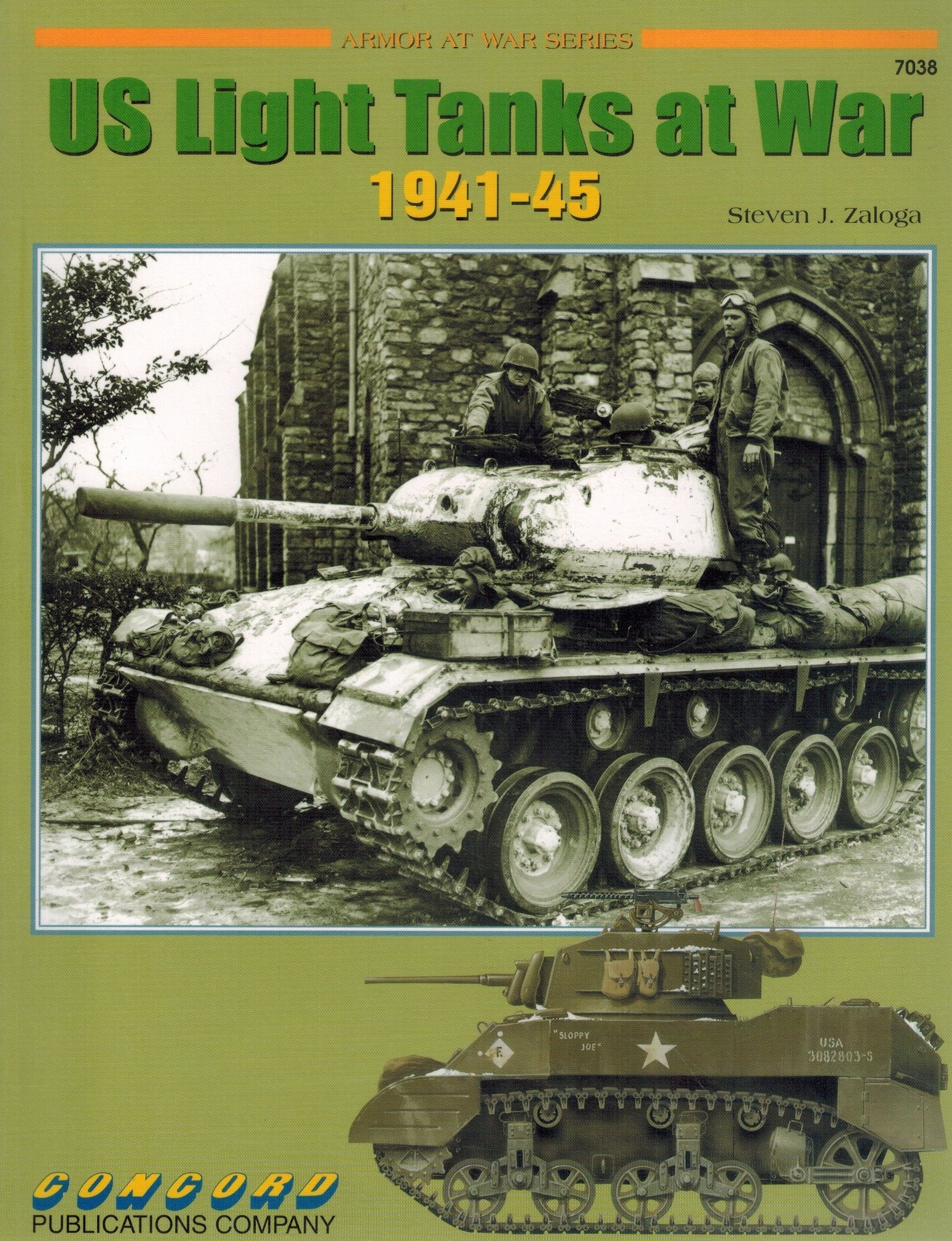 U. S. LIGHT TANKS AT WAR 1941-1945  by Zaloga, Steven J.