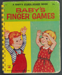 BABY'S FINGER GAMES  by Wonder Books (Publisher)