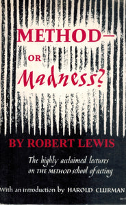 METHOD - OR MADNESS?  by Lewis, Robert
