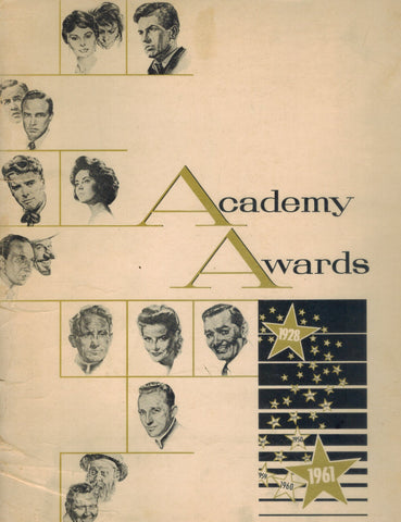ACADEMY AWARDS 1928-1961  by Volpe, Nicholas