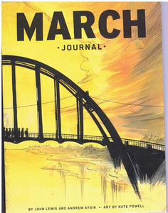 MARCH JOURNAL  by Powell, Nate &  John Lewis &  Andrew Aydin
