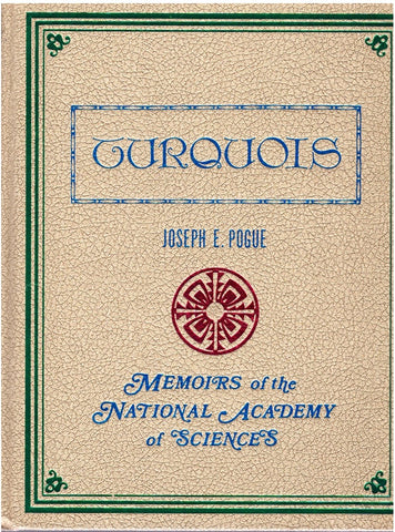 TURQUOIS Memoirs of the National Academy of Sciences