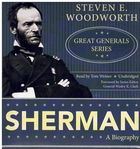 SHERMAN: GREAT GENERALS SERIES )