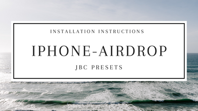iPhone Install *Airdrop*