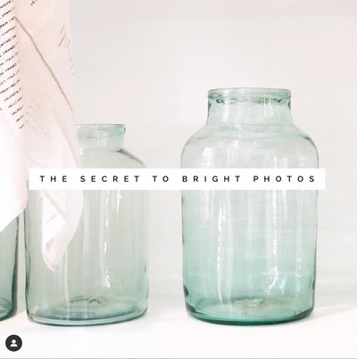 The Secret to Taking Bright, Beautiful Photos.