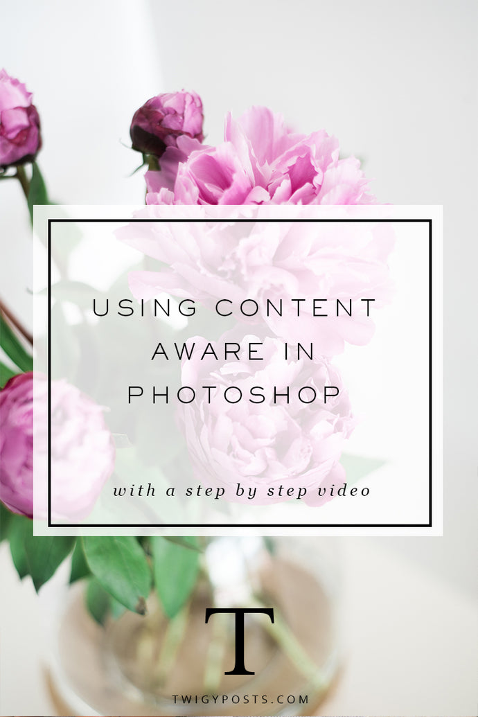 Using Content Aware in Photoshop