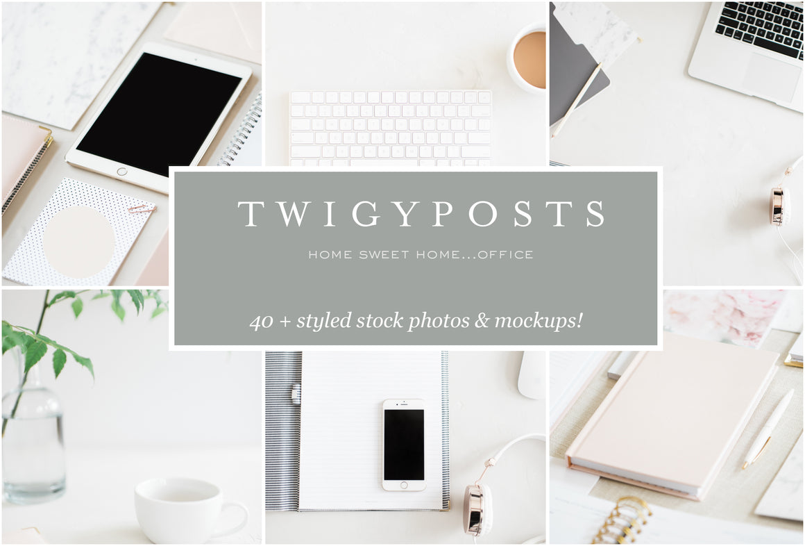 Home Sweet Home Office | Stock Photo Bundle