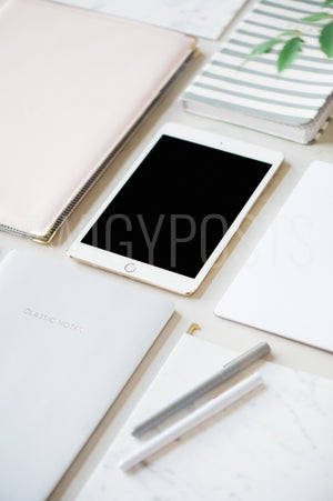 Set of 3 iPad Mockups | Easily Add Your Own Image or Movie to the Screen
