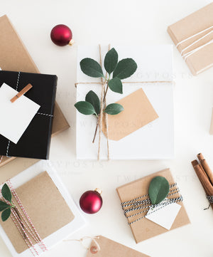 Festive Holiday Mockups & Styled Stock Photos
