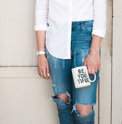twigyposts,Model with Coffee Mug | Individual Photos,Jana Bishop Collection,Individual Stock Photos