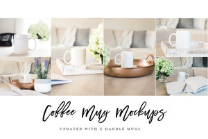 Coffee Mug Mockup Bundle