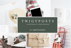 Christmas at Home Stock Photo Bundle #0123