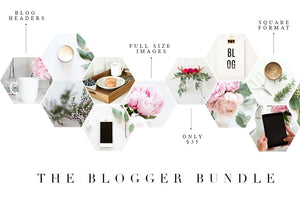 Blogger Bundle | Styled Stock Photos for Blogs & Instagram