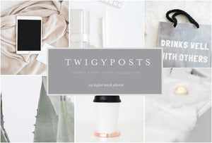 Works From Home Stock Photo Bundle | #7