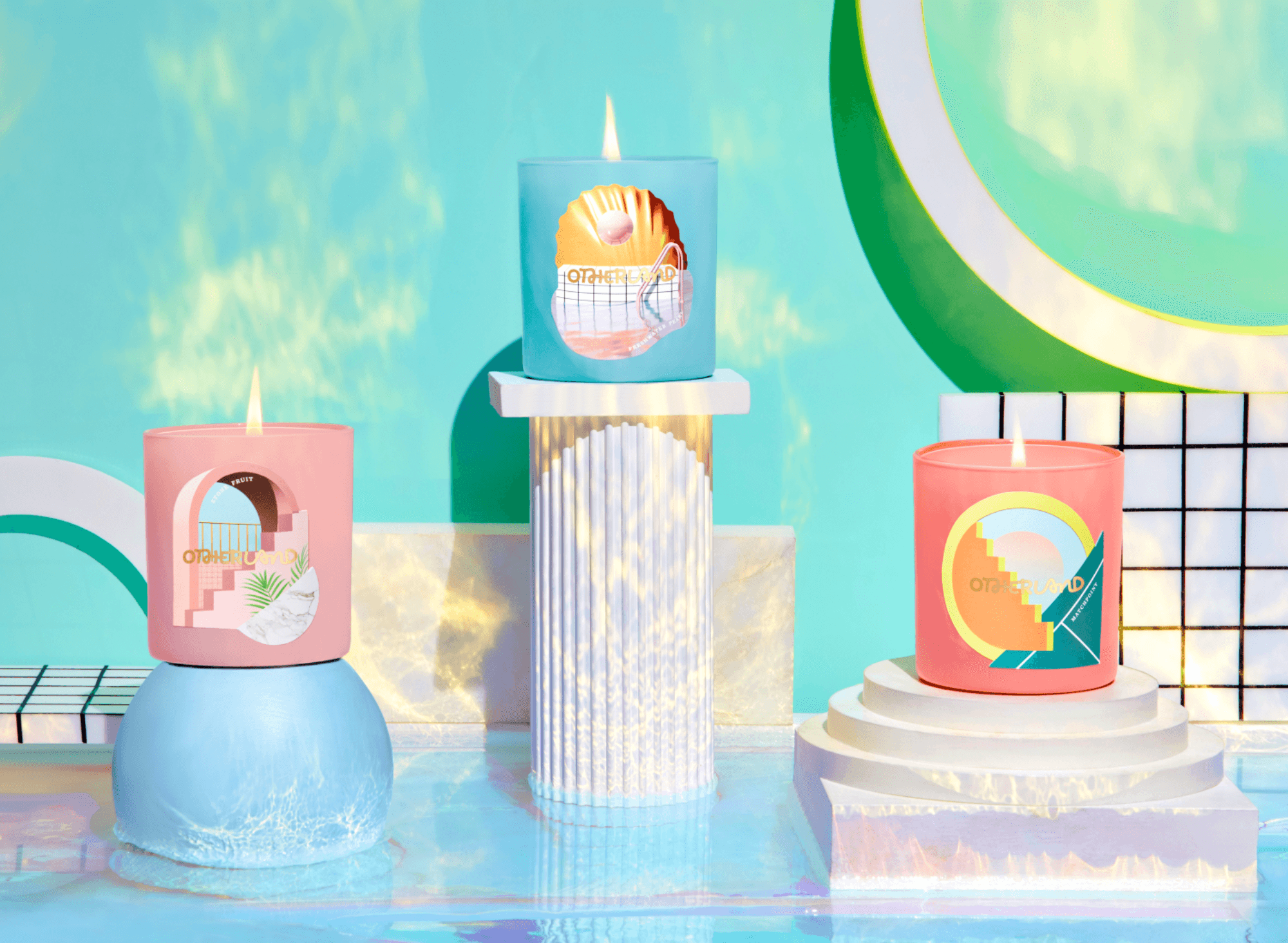 Candles - The Beach Club Collection