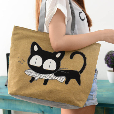 [HOT OFFER] Cute Cartoon Cat Bag For Women