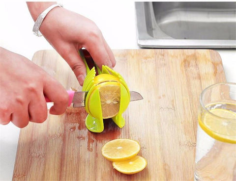 Delidge Durable Vegetable And Fruits Slicer (Tomato and Lemon Cutter)
