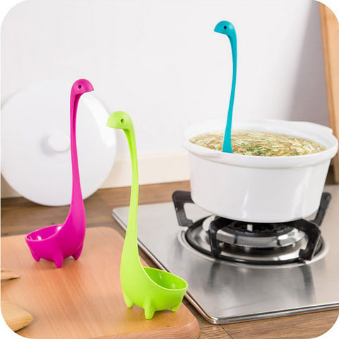Soup Spoon Nessie The Monster - Creative (Multifunction)