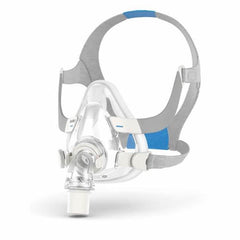 Reusable Silicone ResMed AirFit F20 Full Face Mask for CPAP and BiPAP therapy