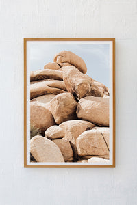 Desert Boulders Colour