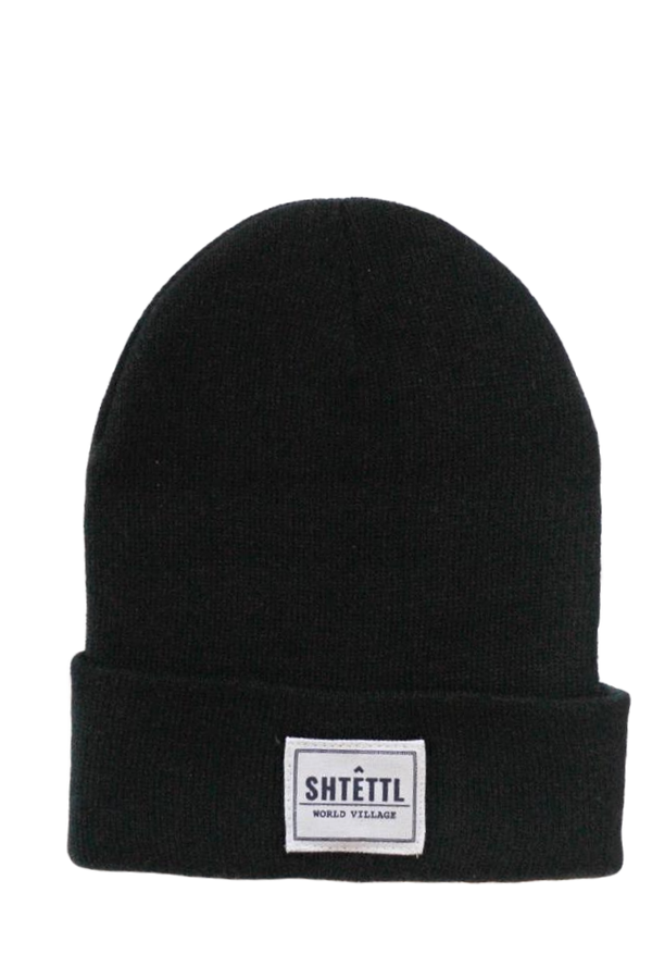 World Village Beanie Black - Shtettl